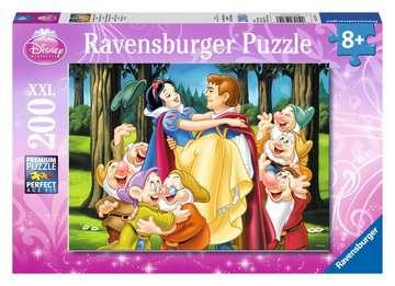 DI:KRÓLEWNA ŚNIEŻKA I KSIĄŻĘ 200 EL Puzzle;Puzzle dla dzieci - Zdjęcie 1 - Ravensburger