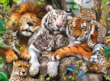 Big Cat Nap XXL200 Puzzles;Children s Puzzles - image 2 - Ravensburger