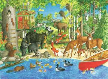 Woodland Friends Jigsaw Puzzles;Children s Puzzles - image 2 - Ravensburger