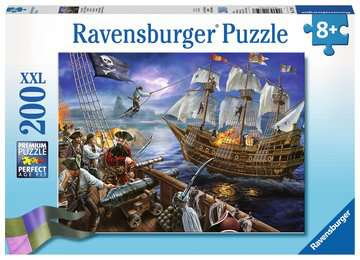 Blackbeard s Battle Jigsaw Puzzles;Children s Puzzles - image 1 - Ravensburger