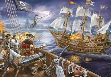 Blackbeard s Battle Jigsaw Puzzles;Children s Puzzles - image 2 - Ravensburger