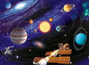 The Solar System Jigsaw Puzzles;Children s Puzzles - image 2 - Ravensburger