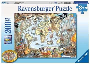 PIRACKA MAPA 200 EL Puzzle;Puzzle dla dzieci - Zdjęcie 1 - Ravensburger
