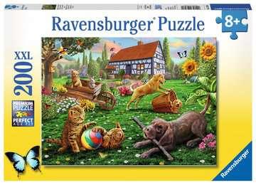 ZABAWA W OGRODZIE 200 EL XXL Puzzle;Puzzle dla dzieci - Zdjęcie 1 - Ravensburger