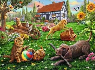 ZABAWA W OGRODZIE 200 EL XXL Puzzle;Puzzle dla dzieci - Zdjęcie 2 - Ravensburger