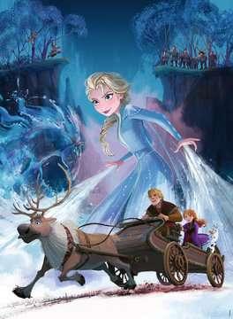 Frozen 2: Mysterious Forest 200p Puslespil;Puslespil for børn - Billede 2 - Ravensburger