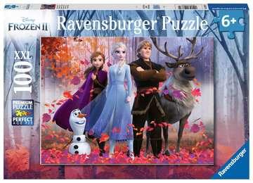 Puzzle 100 p XXL - La magie de la forêt  / Disney La Reine des Neiges 2 Puzzle;Puzzles enfants - Image 1 - Ravensburger