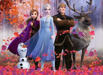Puzzle 100 p XXL - La magie de la forêt  / Disney La Reine des Neiges 2 Puzzle;Puzzles enfants - Image 2 - Ravensburger