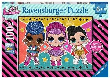 L.O.L. Sterren en glitters Puzzels;Puzzels voor kinderen - image 1 - Ravensburger