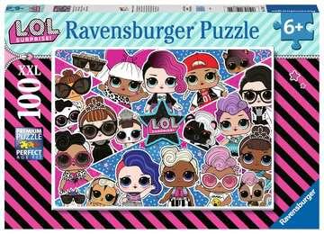 Puzzle 100 p XXL - Amies pour la vie ! / LOL Suprise Puzzle;Puzzles enfants - Image 1 - Ravensburger