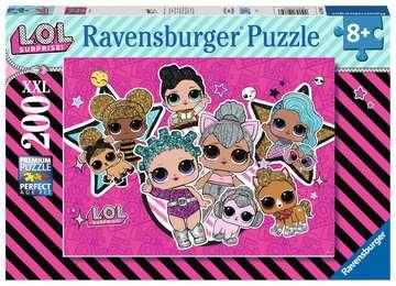 LOL Surprise XXL200 Girl Power Puslespil;Puslespil for børn - Billede 1 - Ravensburger