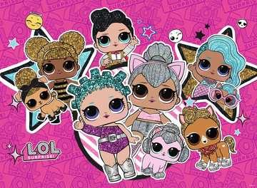 LOL Surprise XXL200 Girl Power Puslespil;Puslespil for børn - Billede 2 - Ravensburger