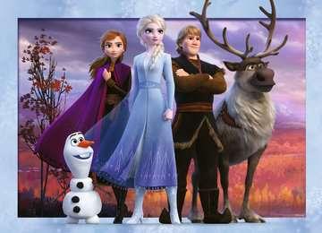 Frozen 2 Ravensburger Puzzle  4x100 Bumper Pack Puzzle;Puzzle per Bambini - immagine 2 - Ravensburger