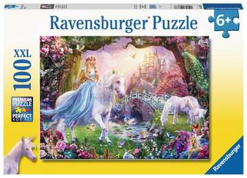 Magical Unicorn XXL 100pc Puslespil;Puslespil for børn - Billede 1 - Ravensburger