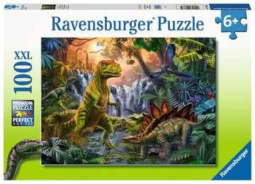 Dinosaur Oasis Jigsaw Puzzles;Children s Puzzles - image 1 - Ravensburger