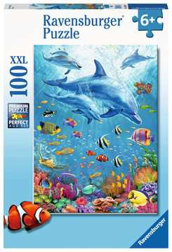 Pod of Dolphins XXL 100pc Puzzles;Children s Puzzles - image 1 - Ravensburger