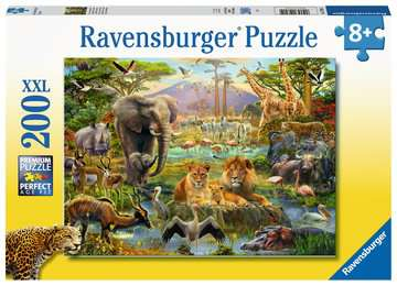 Animals of the Savanna XXL 200pc Puzzles;Children s Puzzles - image 1 - Ravensburger