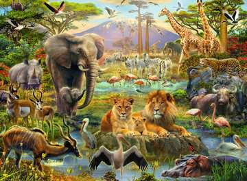Animals of the Savanna XXL 200pc Puzzles;Children s Puzzles - image 2 - Ravensburger