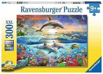 Dolphin Paradise XXL 300pc Puzzles;Children s Puzzles - image 1 - Ravensburger