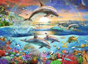 Dolphin Paradise XXL 300pc Puzzles;Children s Puzzles - image 2 - Ravensburger