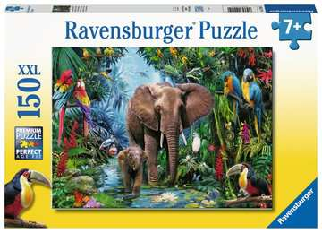 Safari Animals Jigsaw Puzzles;Children s Puzzles - image 1 - Ravensburger