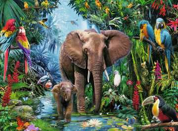 Safari Animals Jigsaw Puzzles;Children s Puzzles - image 2 - Ravensburger