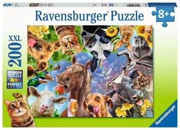 Funny farmyard friends Puslespill;Barnepuslespill - bilde 1 - Ravensburger