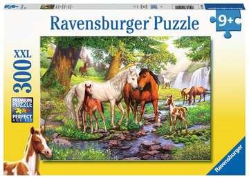 12904 Kinderpuzzle Wildpferde am Fluss von Ravensburger 1