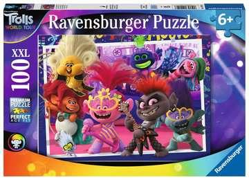 Trolls 2 World Tour, XXL 100pc Puslespil;Puslespil for børn - Billede 1 - Ravensburger