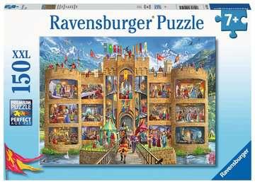 Blick in die Ritterburg   150p Puslespil;Puslespil for børn - Billede 1 - Ravensburger