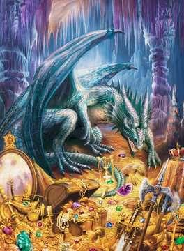 Dragon s Treasure Puslespil;Puslespil for børn - Billede 2 - Ravensburger