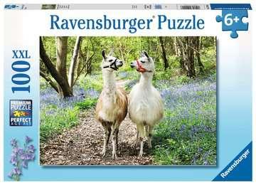 Llama Love                100p Puslespil;Puslespil for børn - Billede 1 - Ravensburger