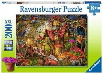 12951 Kinderpuzzle Das Waldhaus von Ravensburger 1