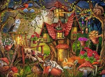 12951 Kinderpuzzle Das Waldhaus von Ravensburger 2