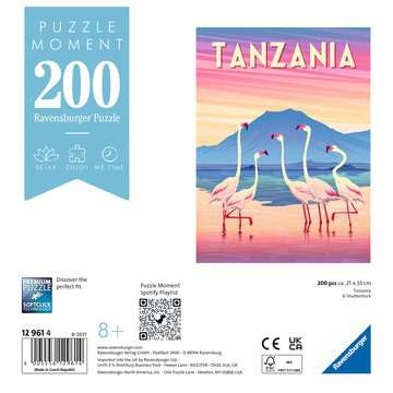 12961 Erwachsenenpuzzle Tanzania von Ravensburger 2