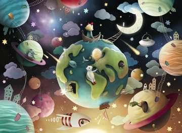 Fantasie planeten Puzzels;Puzzels voor kinderen - image 2 - Ravensburger