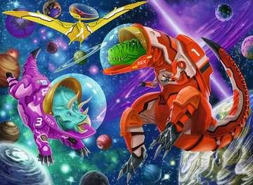 Dino s in de ruimte Puzzels;Puzzels voor kinderen - image 2 - Ravensburger