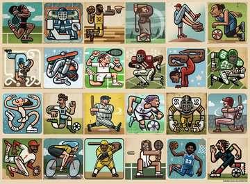 Geweldige atleten Puzzels;Puzzels voor kinderen - image 2 - Ravensburger