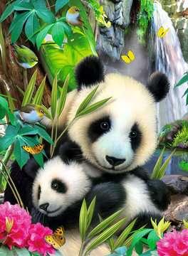 Lieve panda Puzzels;Puzzels voor kinderen - image 2 - Ravensburger
