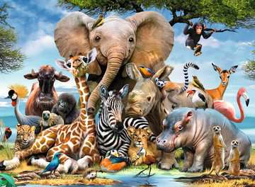 African Friends Jigsaw Puzzles;Children s Puzzles - image 2 - Ravensburger