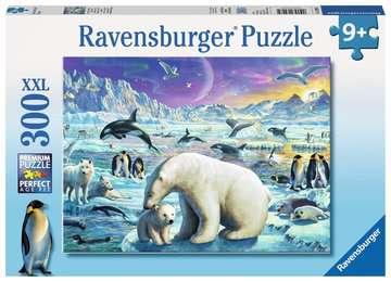 Polar Animals Gathering XXL300 Puslespill;Barnepuslespill - bilde 1 - Ravensburger