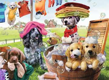 Laundry Day Jigsaw Puzzles;Children s Puzzles - image 2 - Ravensburger