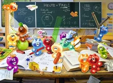 13211 Kinderpuzzle Spaß im Klassenzimmer von Ravensburger 2