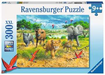 African Animal Babies Jigsaw Puzzles;Children s Puzzles - image 1 - Ravensburger