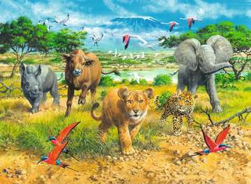 African Animal Babies Jigsaw Puzzles;Children s Puzzles - image 2 - Ravensburger