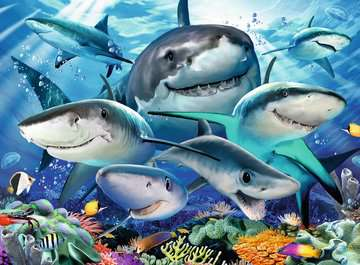 Smiling Sharks Jigsaw Puzzles;Children s Puzzles - image 2 - Ravensburger