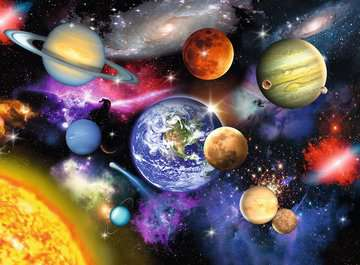 Solar System Jigsaw Puzzles;Children s Puzzles - image 2 - Ravensburger