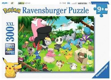 Puzzle 300 p XXL - Pokémon sauvages Puzzle;Puzzle enfant - Image 1 - Ravensburger