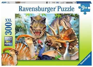 Delighted Dinos XXL300pc Puslespil;Puslespil for børn - Billede 1 - Ravensburger