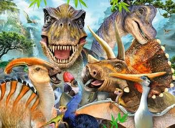 Delighted Dinos XXL300pc Puslespil;Puslespil for børn - Billede 2 - Ravensburger